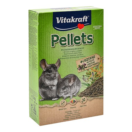 Корм для шиншилл Vitakraft Pellets 1кг 25076