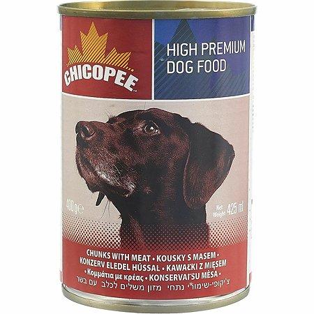 Корм для собак Chicopee говядина консервированный 400г
