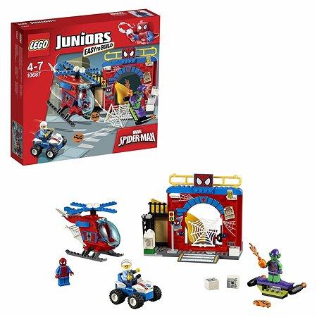 Конструктор LEGO Juniors Убежище Человека-паука™ (10687)