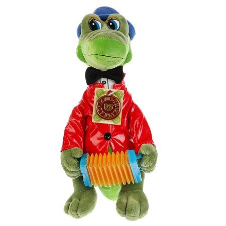 Игрушка Мульти-Пульти Крокодил Гена с аккордеоном 104432/V40314-33MS26