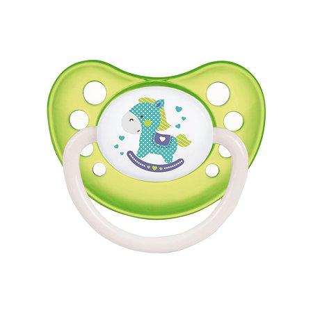 Пустышка Canpol Babies Toys анатомическая 6-18месяцев Зеленая