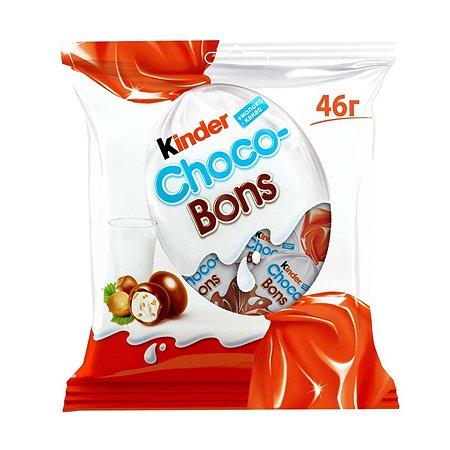 Конфеты Kinder Киндер ШокоБонс шоколадные 46г