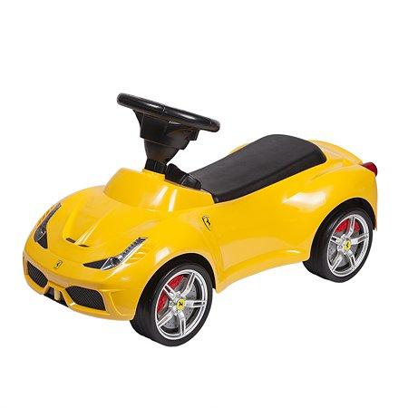 Каталка Rastar Ferrari 458 Желтая 83500