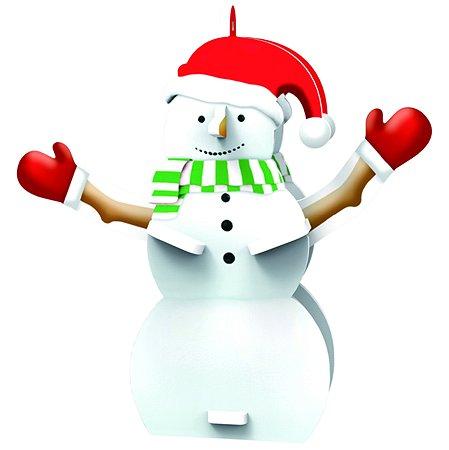 Новогоднее украшение IQ 3D PUZZLE Снеговик