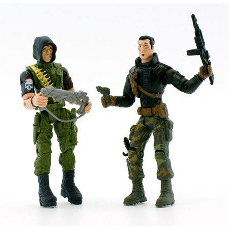 Набор Global Bros Герои-2 (2 солдатика+аксессуары)