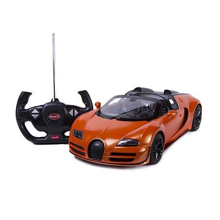 Машинка р/у Rastar Bugatti GS Vitesse 1:14 оранжевая