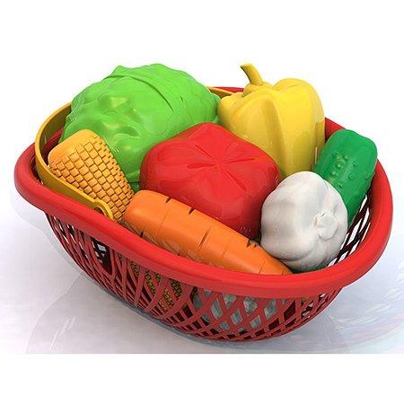 Набор Нордпласт Овощи (10 предметов в лукошке)