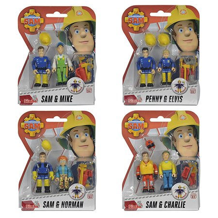 Набор фигурок Fireman Sam Пожарный Сэм 2шт+аксессуары 9257651