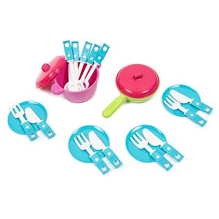 Набор детской игрушечной посудки Zebratoys Обед