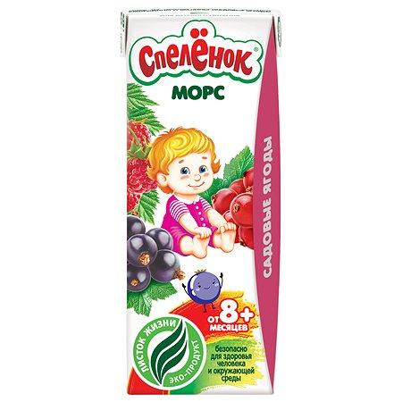 Морс Спелёнок садовые ягоды (с 8 мес) 0.2 л