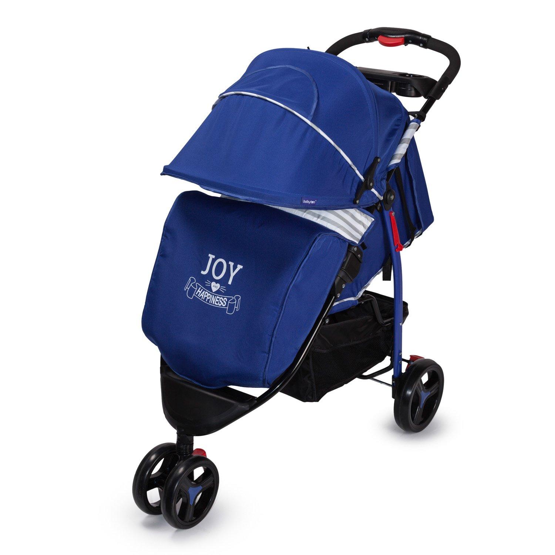 Прогулочная коляска Babyton Stripe Blue