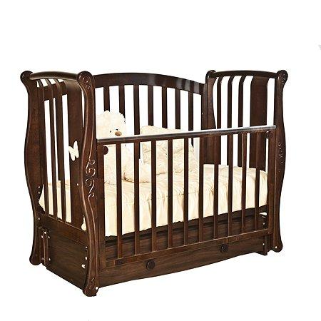 Кровать детская Красная Звезда (Можга) Ярослава С551 шоколад