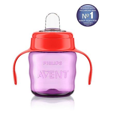 Чашка с ручками Philips Avent Comfort 200 мл 6 мес+ Красная
