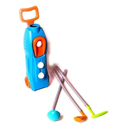 Набор для гольфа 1TOY (футляр,клюшки,шары)