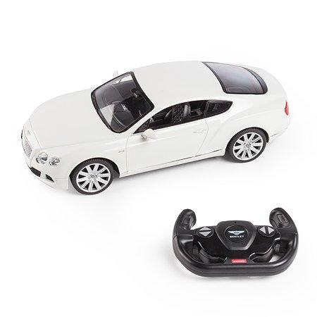 Машинка радиоуправляемая Rastar BentleyContin.GT1:14 белая
