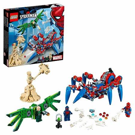 Конструктор LEGO Super Heroes Паучий вездеход 76114