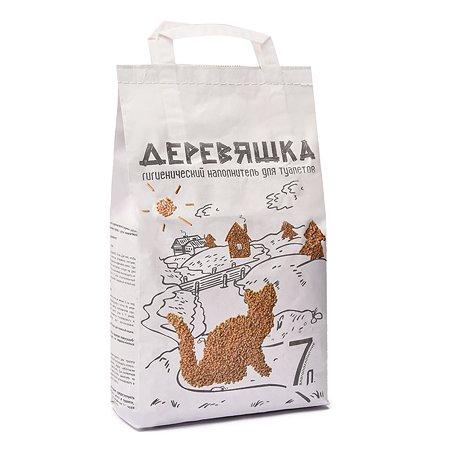 Наполнитель для кошек Зверье мое деревяшка 2.5кг 52287