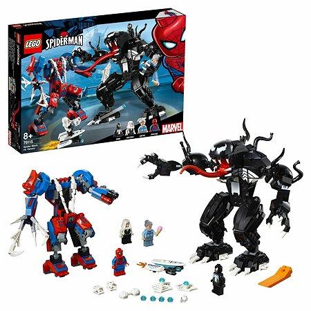 Конструктор LEGO Super Heroes Человек-паук против Венома 76115