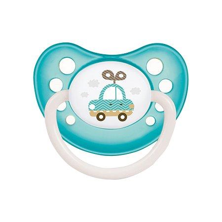 Пустышка Canpol Babies Toys анатомическая 6-18месяцев Бирюзовая