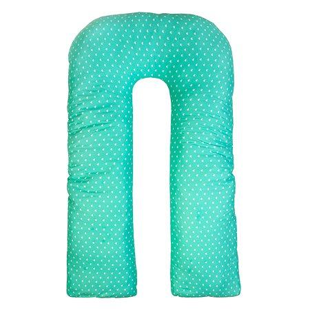 Наволочка к подушке для беременных AMARO BABY Любовь U-образная Мята