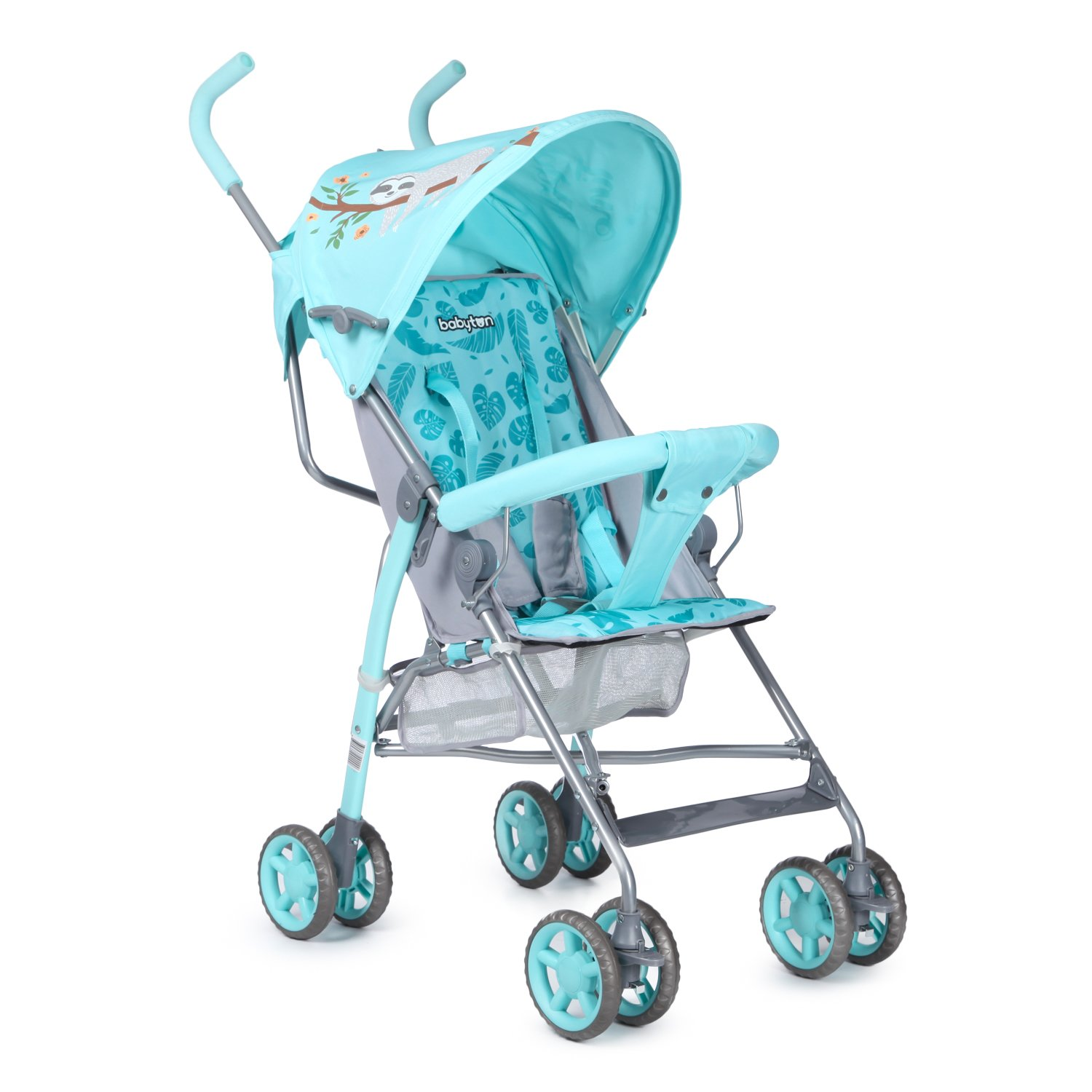 Коляска-трость Babyton Zoo Light Blue FL801-C-3