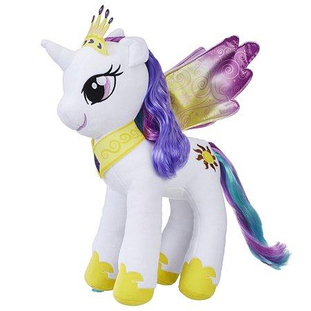 Игрушка мягкая My Little Pony Пони с волосами Селестия E0429EU4