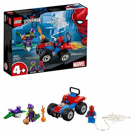 Конструктор LEGO Super Heroes Автомобильная погоня Человека-паука 76133