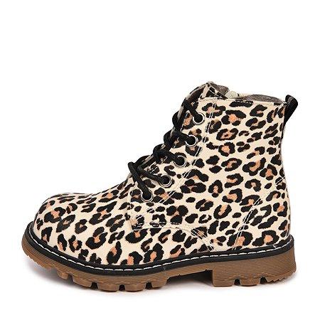 Ботинки BabyGo леопардовые