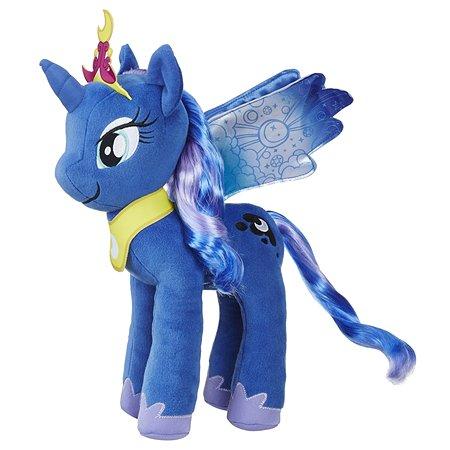 Игрушка мягкая My Little Pony Пони с волосами Луна E0430EU4