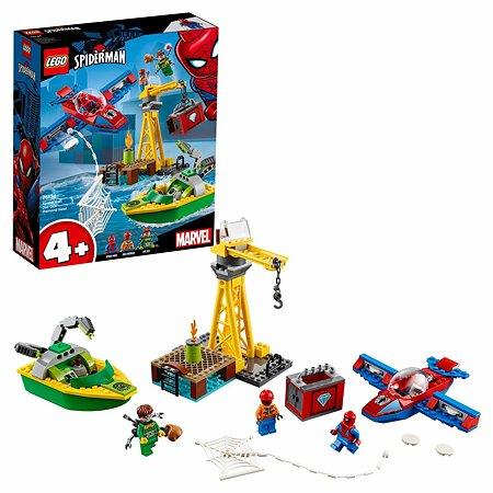 Конструктор LEGO Super Heroes Человек-паук: похищение бриллиантов Доктором Осьминогом 76134