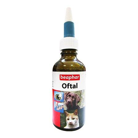 Лосьон для собак и кошек Beaphar Oftal Augenpflege для ухода за глазами 50мл
