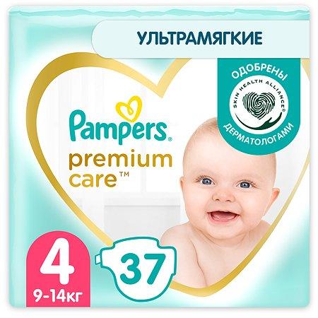 Подгузники Pampers Premium Care 4 9-14кг 37шт