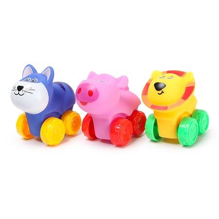 Набор игрушек Baby Go на колесах 3шт JZD-017