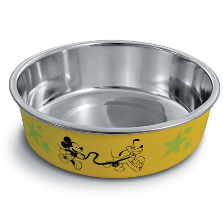 Миска для собак Triol Disney Mickey and Pluto на резинке 0.45л 30251041