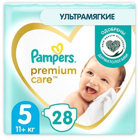 Подгузники Pampers Premium Care Junior 5 11+ кг 28шт