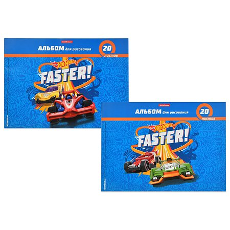 Альбом Barbie Hot Wheels Faster А4 40л в ассортименте 45150