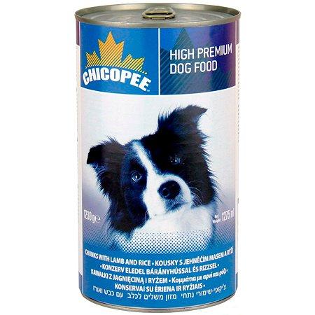 Корм для собак Chicopee ягненком и рисом консервированный 1.23кг