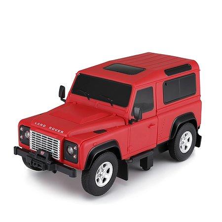 Машина Rastar радиоуправляемая 1:14 Land Rover Defender Трансформер Красный 76420