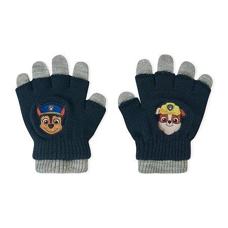 Перчатки двойные Paw Patrol серые