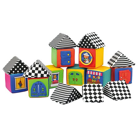 Мягкие кубики K's Kids в чемоданчике в ассортименте