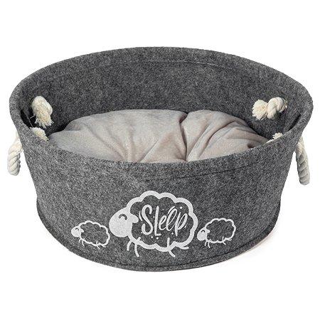 Лежанка для кошек Triol Лукошко мини 31931060