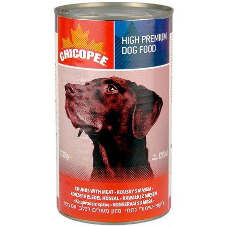 Корм для собак Chicopee с говядиной консервированный 1.23кг