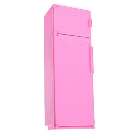 Мебель для кукол Огонек Холодильник Розовый С-1385