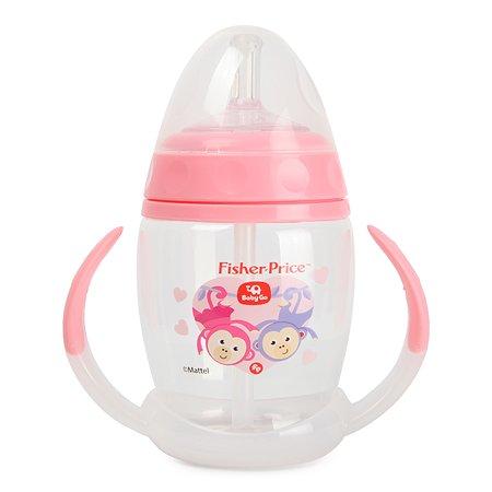 Поильник BabyGo Fisher Price 180мл Pink C1-0001