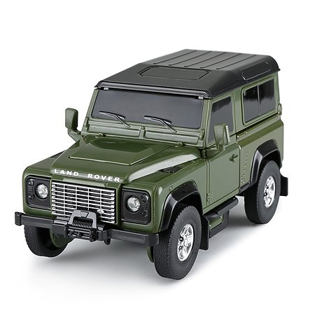 Машина Rastar 1:32 Land Rover Defender Трансформер Зеленый 62010
