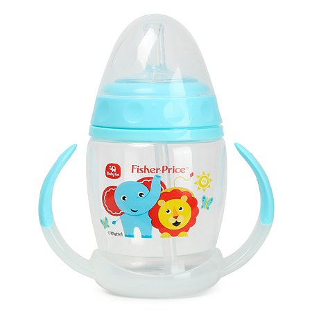 Поильник Baby Go Fisher Price 180мл Blue C1-0001