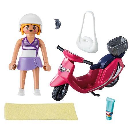 Конструктор Playmobil Посетитель пляжа 9084pm