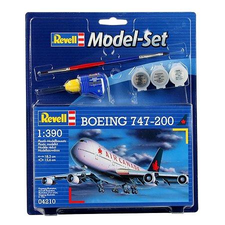 Подарочный набор Revell со сборной моделью Boeing 747