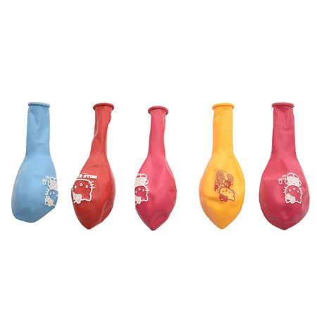 Набор шаров Веселая затея Hello Kitty 5шт 1111-0381