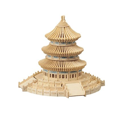 Конструктор Woodkit Храм Неба